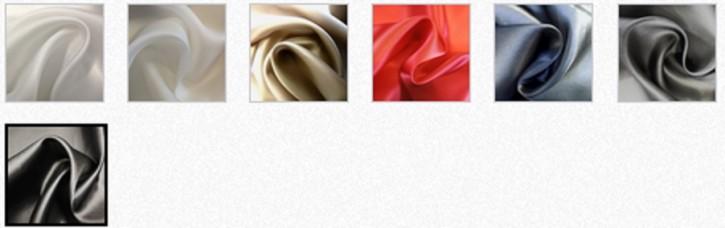 Farbkarte Satin Organza - gefärbt -