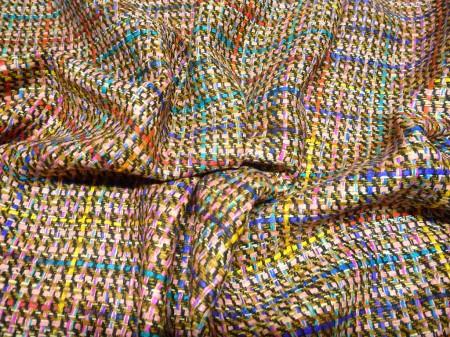 Fancy Tweed, buntgewebt
